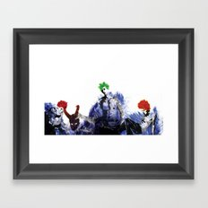 A dagger of the mind Framed Art Print