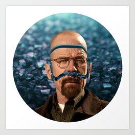 Heisenberg - Walter White Art Print