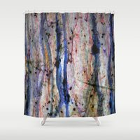 medicine Shower Curtains featuring medicine by karrenn