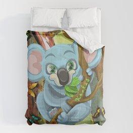I Love Koalas Comforters