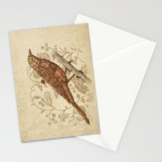 Steampunk Songbird  Stationery Cards