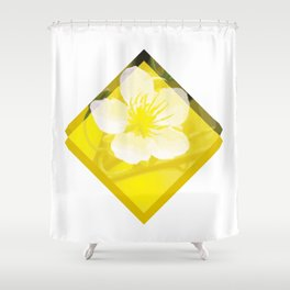 Hoa Mai Yellow Apricot Blossom Vietnam Lunar New Year Shower Curtain