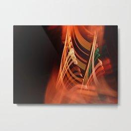 Energetic abstract light Metal Print
