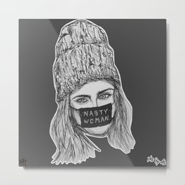 (Cara - Nasty Woman) - yks by ofs珊 Metal Print