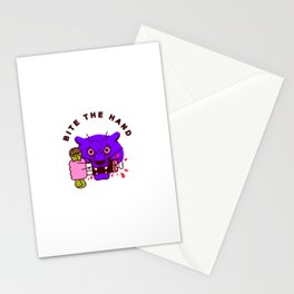 Bite the Hand Stationery Cards