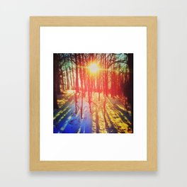 Take The Prismatic Path (002) Framed Art Print