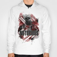 notorious Hoodies featuring Notorious by Skye