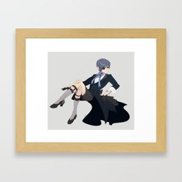 Excuse you Framed Art Print