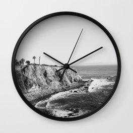 Palos Verdes Peninsula Wall Clock