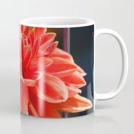 portrait of a dahlia bloom Coffee Mug