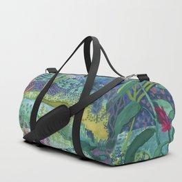 Jungle Paradise Watercolor Duffle Bag
