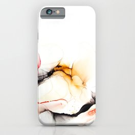 Ink_Coral Black Coffee iPhone Case