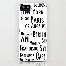 New York, Los Angeles and others city . Fashion Chic Home Decor Graphicdesign iPhone Case