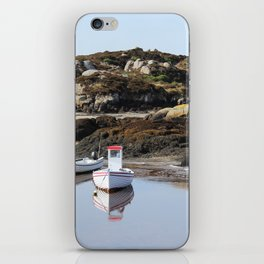 Boats at Cruit Island Donegal iPhone Skin