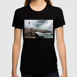 Peggy's Cove Light House -- Nova Scotia T-shirt