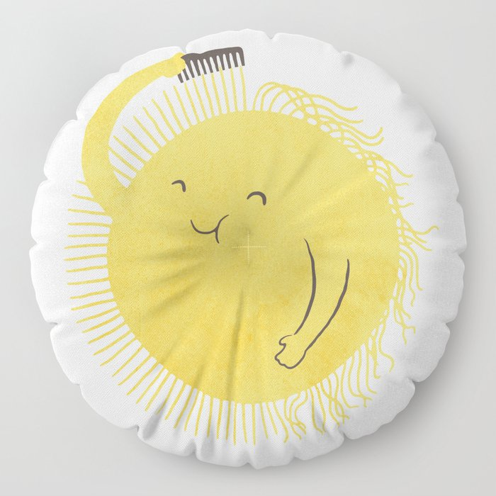 Good Morning, Sunshine Floor Pillow