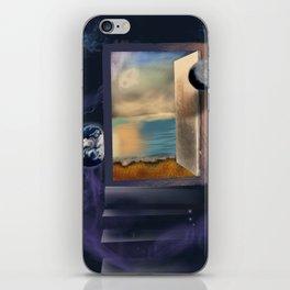An open door iPhone Skin