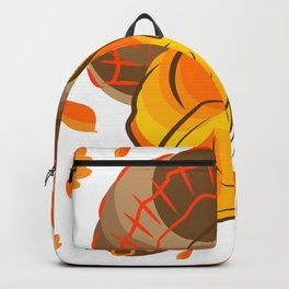 Happy Turkey Thanksgiving Day Backpack