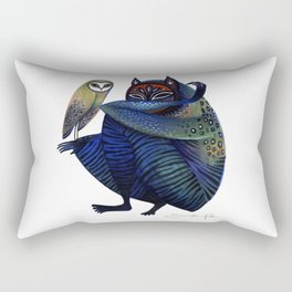 Owl & Spirit Rectangular Pillow