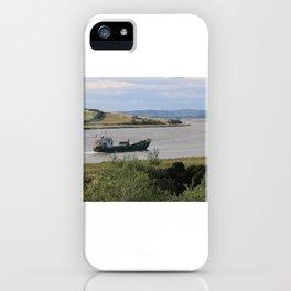 Ship into Launceston Docks* iPhone Case