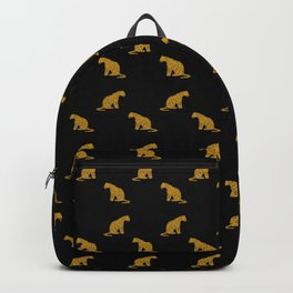 Mystic Leopard Pattern Backpack