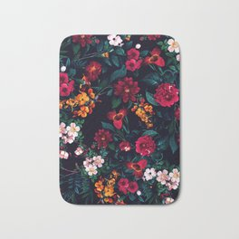 The Midnight Garden Bath Mat