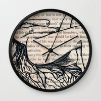 philosophy Wall Clocks featuring Philosophy of Law by Nikki D. May