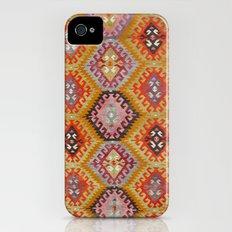 Ikat Rug 5 Multi Slim Case iPhone (4, 4s)