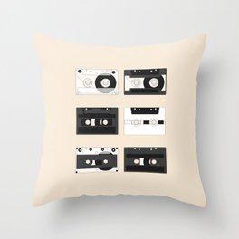 Cassette Pattern #1 Throw Pillow