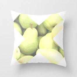 X Pera Throw Pillow