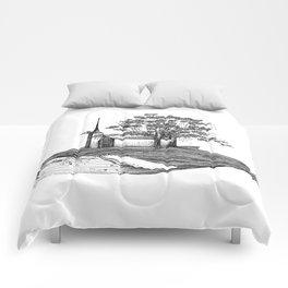 Ballena isla / Whale Island Comforters