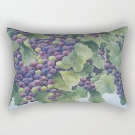 Napa Valley Grapes Rectangular Pillow