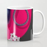 blossom Mugs featuring Blossom by Musya
