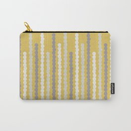 Adelaide Modern Bubbles in Gold - Carry-All Pouch