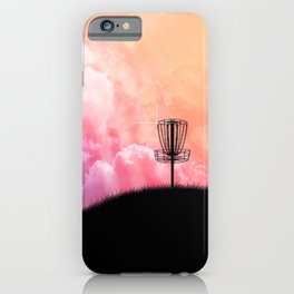 Basket On A Hill iPhone Case