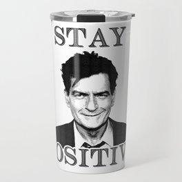 Stay Positive Travel Mug