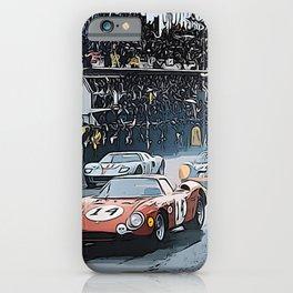 Le Mans 1964 Start iPhone Case