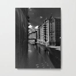 Speicherstadt Metal Print