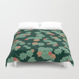 Succulents - Large Duvet Cover