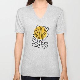 Sun Leaf: Matisse Edition | Mid Century Series Unisex V-Neck