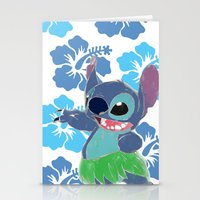 stitch Stationery Cards featuring Stitch  by Nic Moore