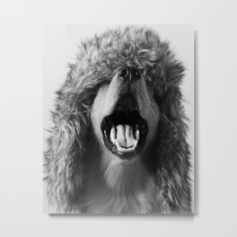 Yawn Metal Print