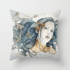 Imago stage Throw Pillow