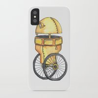 robot iPhone & iPod Cases featuring Robot by Michelle Krasny