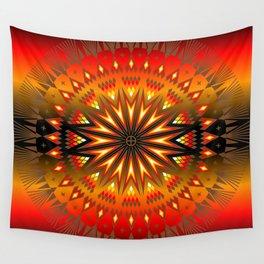 Fire Spirit Wall Tapestry