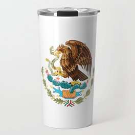 mexican sports fan mexico flag Travel Mug