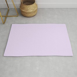 Purple Passion ~ Lavender Froth Rug