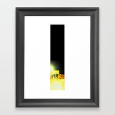 One cold night in Bergen 02 Framed Art Print