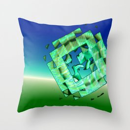 Expansion 651 Throw Pillow