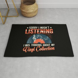 LP Record Vinyl Collection Music Collector Gift Rug